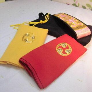 新品未使用 2.980円 沖縄三線専用布袋三色からお一つ選択と金...