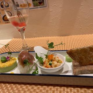 欧風Curry MONZUのディナーコース