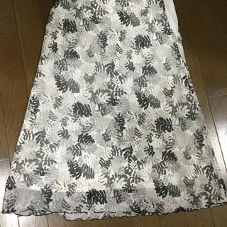 春夏用 グレー系スカート