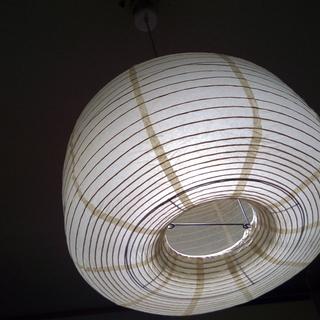 ペンダントライト 和紙シェード 照明 無調光
