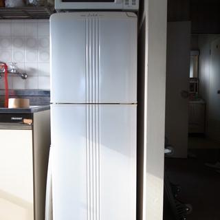 【ジャンク】三菱 冷蔵庫*MR-15X-H