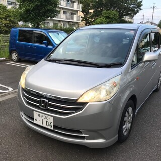 H20 ステップワゴン GL HDDナビPKG 8人乗  車検長...
