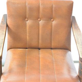 おすすめ♪雰囲気のある椅子 脚の形が良い感じ 木製 チェア レトロ 古民家 アンティーク 高70cm×横62cm×奥70cm /A − 香川県