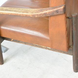 おすすめ♪雰囲気のある椅子 脚の形が良い感じ 木製 チェア レトロ 古民家 アンティーク 高70cm×横62cm×奥70cm /A - 売ります・あげます