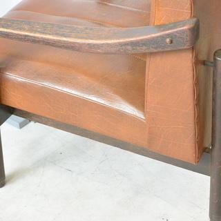 おすすめ♪雰囲気のある椅子 脚の形が良い感じ 木製 チェア レトロ 古民家 アンティーク 高70cm×横62cm×奥70cm /B - 売ります・あげます