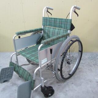 QB1033【特別商品】車椅子 美品 折り畳み式 リーフレットラ...