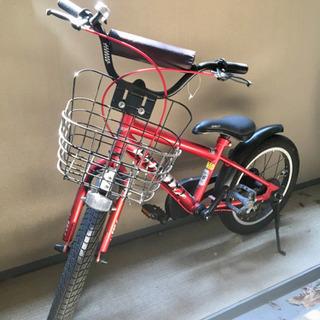 子供用 自転車 赤 男女兼用  16インチ