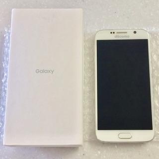 取引中 docomo Galaxy s6