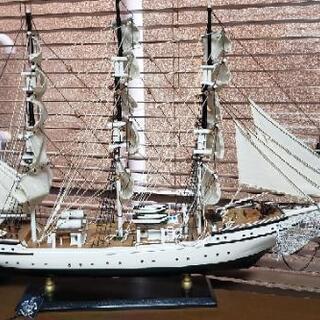 帆船模型 500円!