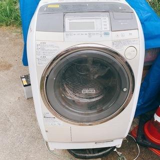 ドラム式洗濯機 通電確認済み ジャンク BD-V7300L