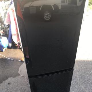 三菱 2017年 黒 冷蔵庫 146l キャッシュレス5%還元
