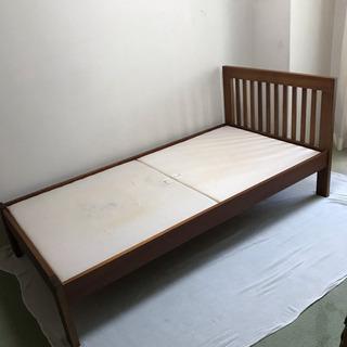 受付終了 シングルベッド