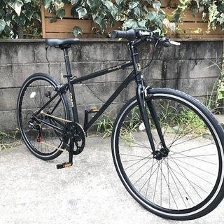 ¥19800- 格安新車です。かっこいいクロスバイク ブラック ...