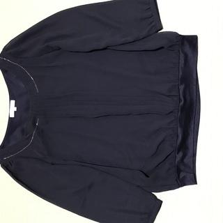 「ROPE」ブランドの八分袖ブラウス、Mサイズです。