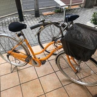 商談成立 自転車・使用1年半程