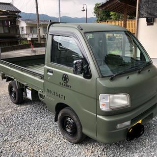 軽トラ ハイゼット 4WD エアコン USアーミー