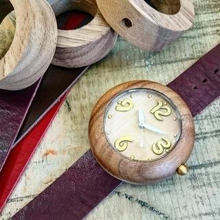 天然木の腕時計一日体験教室