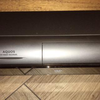 AQUOS HDDレコーダー DV-AC52