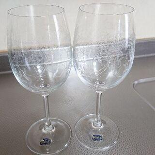 ちょっとお高いワイングラス(*^^*)セット
