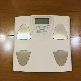 体組成計(体重、体脂肪率測定)