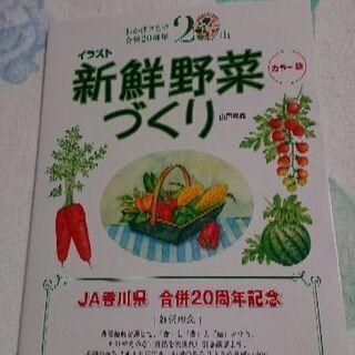 新品🎵野菜作り方の本