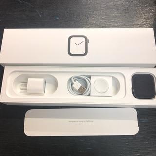 【美品】アップルウォッチ4 44mm セルラーモデル