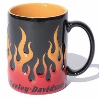 ハーレーダビットソンフレイムマグカップ