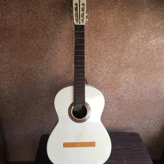 白いギター Kasuga/春日 【部品とり用】