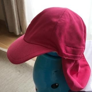 日除け付きカラー帽子  53〜56センチ