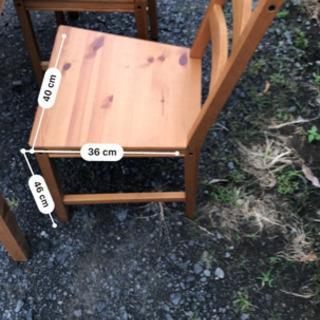 超お得!ダイニングテーブル、椅子セット! - 栃木市