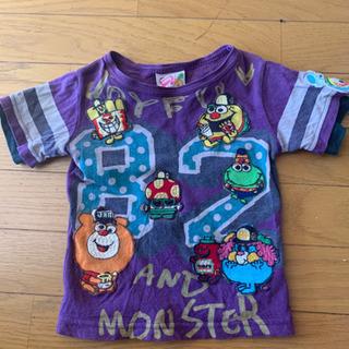 JAM 半袖ワッペンTシャツ  90