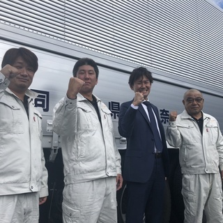 【正社員】10t大型トラックドライバー 長距離輸送 (奈良発関東...