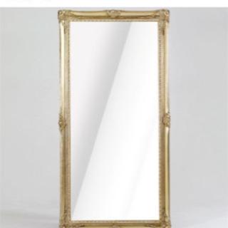 【大幅値下げ】オシャレなアンティークミラー(姿見/鏡)お譲りします。