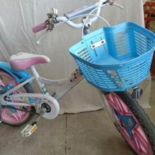 自転車 18インチ 補助輪付き。
