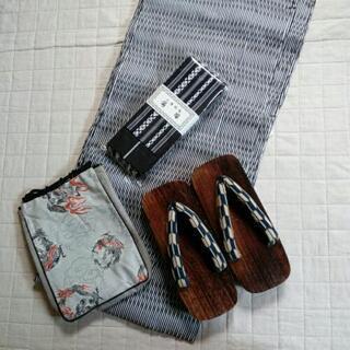 【未使用】男性用 浴衣セット