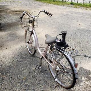 自転車空気入れ付き