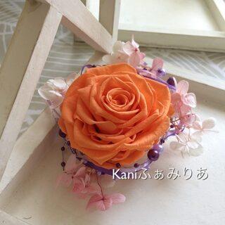 プリンセスシリーズ♥ローズメリアのコサージュ♥髪飾り♥