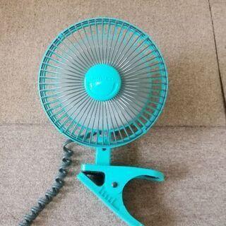 小型扇風機(クリップ式)