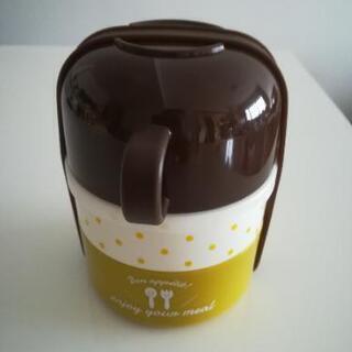 【新品】スープカップ付き 二段ランチボックス