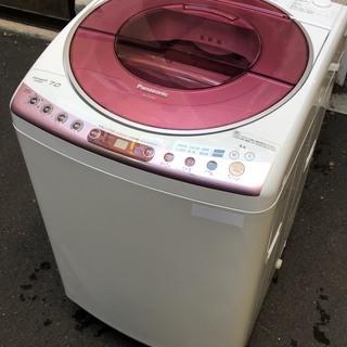 パナソニック 7キロ 洗濯機 風乾燥付 2010年