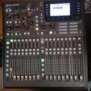 即戦力!デジタルミキサーbehringer x32 produc...