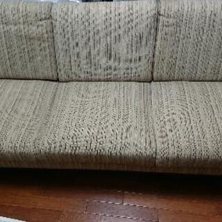 大きめのソファです。無料!
