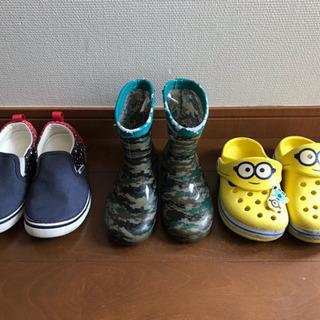 男の子 靴 長靴 サンダル ¥100~
