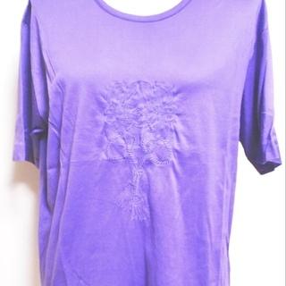 高級ブランド LOEWE ビッグロゴ刺繍Tシャツ