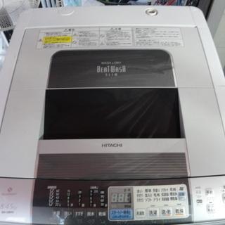 北591 日立 全自動洗濯機 8KG 乾燥容量4.5KG …