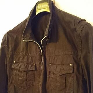 COMME CA ISM 薄手のジャケット ブルゾン