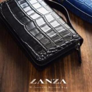 [新品激安]LANZA 高級セカンドバッグ