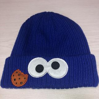 クッキーモンスターニット帽