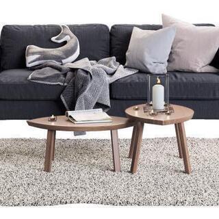 IKEA  2人掛けソファ + オットマン