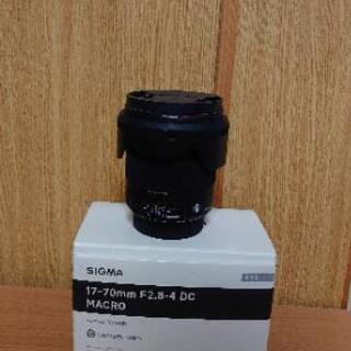 シグマ 17-70mm F2.8-4 DC MACRO O...